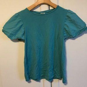 Zara girls green shirt. Size 10